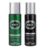 Brut Deodorants - Green Original & Black Musk - Pack Of 2 Brut Deodorant