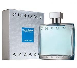 Azzaro Chrome Eau De Toilette For Men 100ml /3.4oz ( Sealed Packed With Boxed )