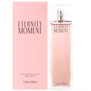 CALVIN KLEIN Ck Eternity Moment Eau De Parfum Spray 100ml/3.4 Oz ( Sealed Packed With Boxed )