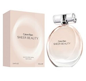 CALVIN KLEIN SHEER BEAUTY EDT For Women 100ml/3.4oz ( Sealed Packed With Boxed )