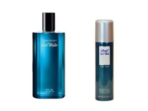 Davidoff Perfumes (Men's) - DAVIDOFF  Cool Water EDT 125ml/4.2oz And Davidoff Combo Offer For Men (Unboxed) For Men