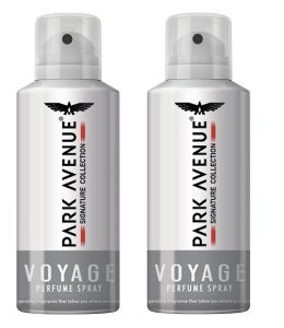 Park Avenue Men's Deo, Voyage Signature, 100g (Pack Of 2)