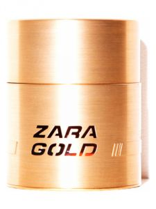Zara Gold For Men Eau De Toilette 100 Ml / 3.37 Oz ( Unboxed )