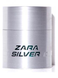 Zara SILVER For Men EAU DE TOILETTE 100 Ml / 3.37 Oz ( Unboxed )