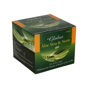 Globus,Clinique,Aveeno,Banana Boat Personal Care & Beauty - Globus Aloe Vera & Neem Gel (2 X 100 g)