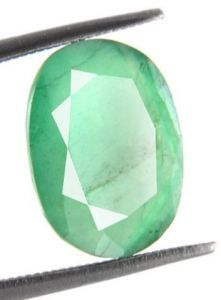 3.66 Cts Certified Natural Green Panna Stone