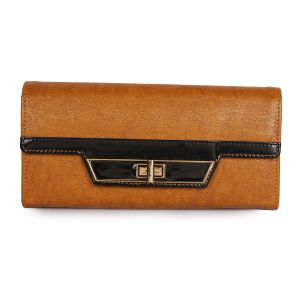 Wallets, Purses - LadyBugBag Brown Women's Wallet - LBB10292