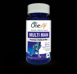 Onelife Multi Man (promotes Vitality In Man) 60 Tablets - (code - Multi_man_60)