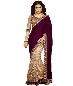 Designer Sarees - Designer Bollywood Saree Aa490