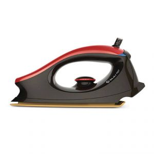 Bajaj Electronics - Bajaj Majesty One 1000-Watt Dry Iron (Red/Black)
