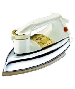 Bajaj Electronics - Bajaj Majesty DHX 9 1000-Watt Dry Iron (Ivory Color)