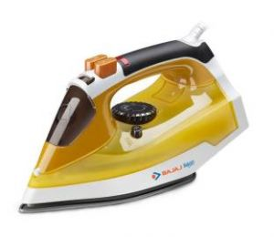 Bajaj Electronics - Bajaj Majesty MX 25 1250-Watt Steam Iron (Yellow)