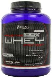 Ultimate Nutrition Health & Fitness - Ultimate Nutrition Prostar100%WheyProtein-ChocolateCreame-5.28Lbs - (Code - Prostar-ChocolateCreame-5.28Lbs)