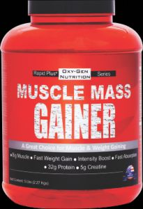 Rapid+ Muscle Mass Gainer 5 Lbs