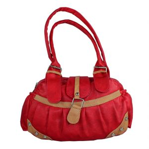 SPERO Women's Stylish Zip Lock Casual Red Handbag