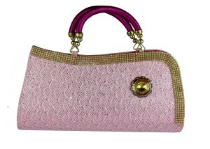 SPERO Women's Stylish Zip Lock Handbag Pink Color