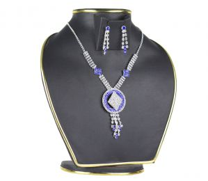Spero Alloy Golden Australian Stone 2 PC Necklace Set For Women (code - 06 Necklace)