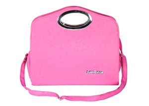 SPERO Women's Stylish Zip Lock Casual Dark Pink Handbag (Code - 37 Hb)
