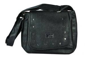 SPERO Women's Stylish Zip Lock Casual Black Handbag (Code - 43 Hb)