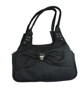 SPERO  Women's Stylish Zip Lock Casual  Black Handbag
