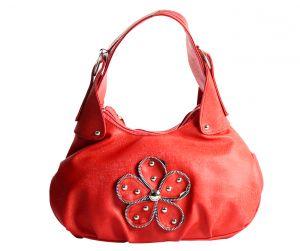 SPERO Girl's Stylish Zip Lock Leatherette Funky Red Handbag (Code - 03 Hb)