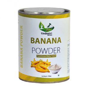Canned Food, Beverages - Natural Banana Powder for Babies
