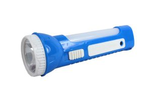 2 In 1 Rechargeable Emergency Torch Lamp Light
