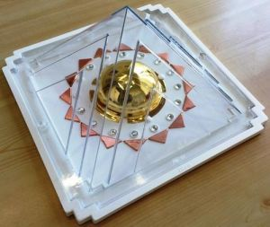 Fortune Fire - Copper Vastu Pyramid