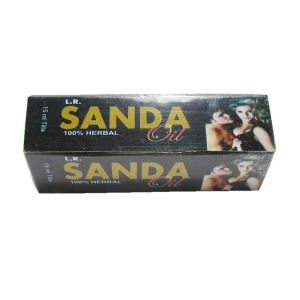 L.r. Sanda Male Organ Massage Oil For Men X 2