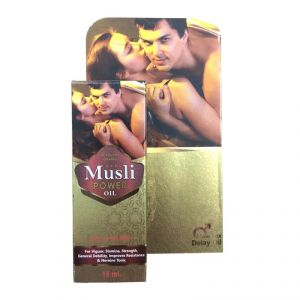 Dr. Chopra M-sli Power Oil (male Organ Massage Oil)