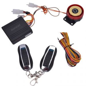 Bike Styling Products - Autostark Blackcat Motorcycle / Bike Alarm Security System For Mahindra Flyte