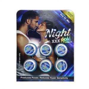 Dr.chopra Night Xxx Gold Cream For Men(pack Of 2)