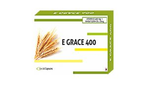 E- Grace Vitamin E 400mg Wheat Germ Oil 10mg Capsules