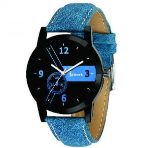Mens & Boys Analog Blue Wrist Watch