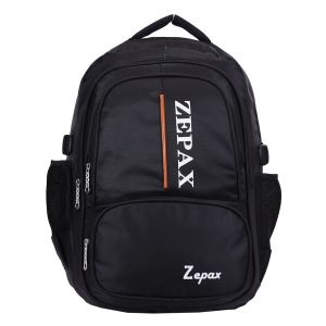 Black Elegant School And College Back Pack