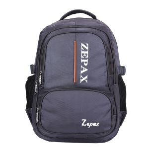Grey Elegant School And College Back Pack
