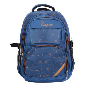 Blue Sassy School, College And Casual Back Pack