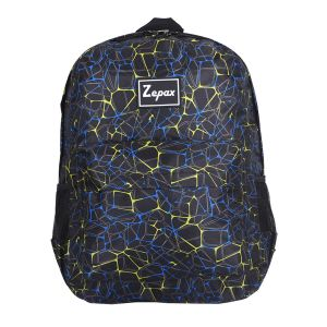 Black Stylish Printed Casual Back Pack