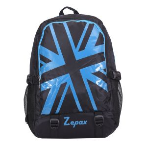 Stunning Blue And Black Back Pack