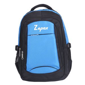 Blue And Black Modish School And College Back Pack