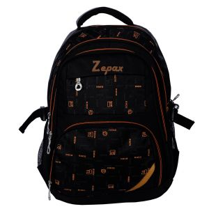 Black Sassy School, College And Casual Back Pack