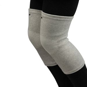 Combo Of 2 Self Warming Pain Relief Bamboo Knee Cap For Winter Medium