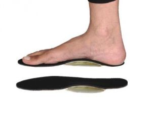 Medium Foot Insole With Gel Arch Orthosis Heel Arch Pain Flat Feet Shoe Support Pair