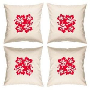 Digital Print Canvas Cushion Cover 16 Inches Set Of 4 By Admire Home (code - Sofa Ahcc008)
