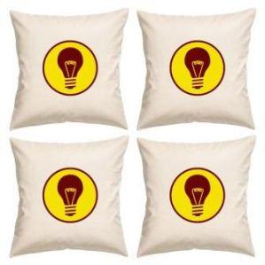 Digital Print Canvas Cushion Cover 16 Inches Set Of 4 By Admire Home (code - Sofa AHCC023)