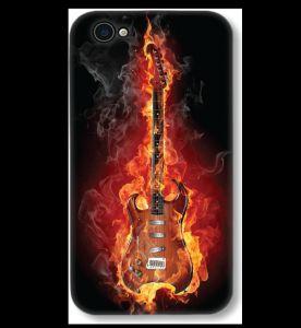 premium selection 29588 94336 IPhone 4 bonfire guitar 3D Designer Printed Hard Mobile Cover printMono