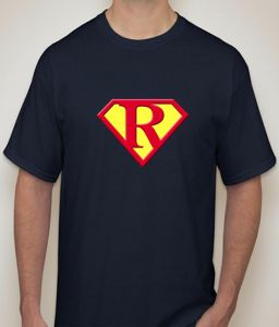 Superman - R Navy T-shirt For Men - ( Code -p0075701853 )