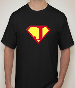 Superman - J Black T-shirt For Men - ( Code -p0076800553 )