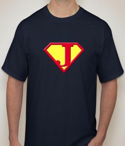 Superman - J Navy T-shirt For Men - ( Code -p0076801853 )