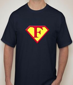 Superman - F Navy T-shirt For Men - ( Code -p0077901853 )